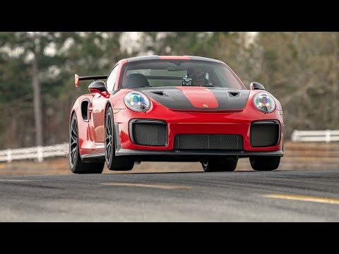 Porsche 911 GT2 RS Record Lap at Road Atlanta ?Highlight Film with Randy Pobst Onboard Camera