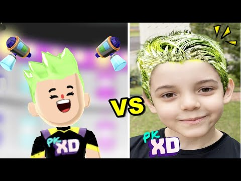PK XD   MUNDO DO PK XD VS MUNDO REAL #2   Piero Start Games