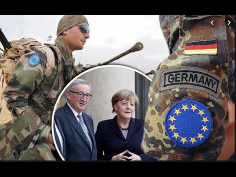 The EU army is beginning to take shape