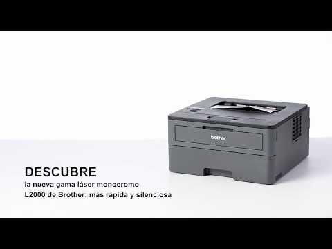Tour de producto Brother HL-L2370DN. Impresora láser monocromo con red y dúplex
