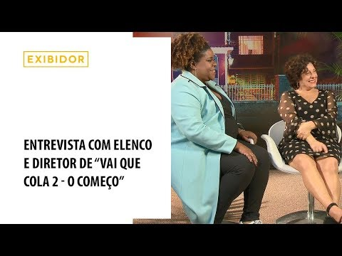 Entrevista com elenco e diretor de