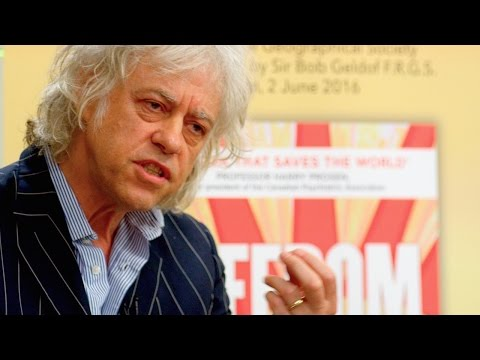 Bob Geldof @ FREEDOM book launch*