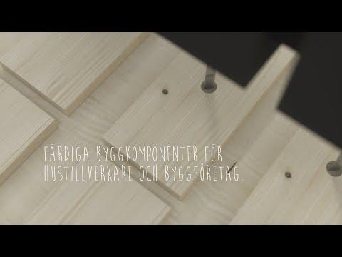 Färdiga byggkomponenter för hustillverkare och byggföretag