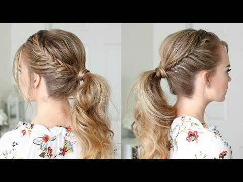 Double Lace Fishtail Ponytail | Missy Sue