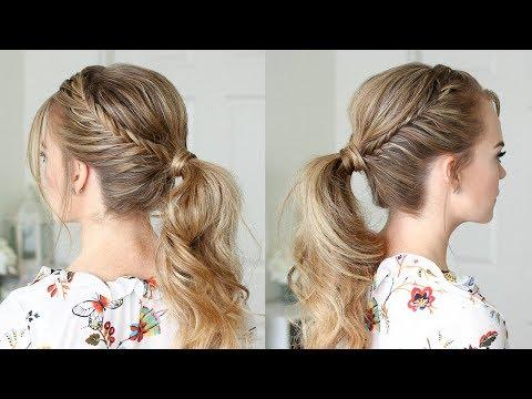 Double Lace Fishtail Ponytail | Missy Sue