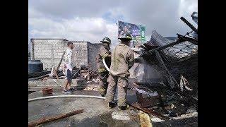 Época de incendios: se registra un incendio estructural en La Reformita