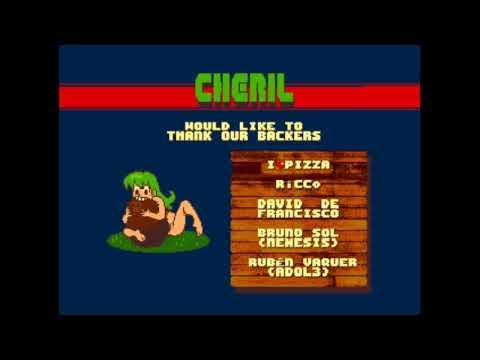 Canal Homebrew: Mega Cheril Perils (Mojon Twins) Sega Megadrive