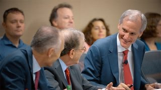 Stanford introduces 11th president, Marc Tessier-Lavigne