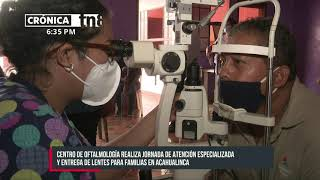 Atención especializada en salud visual para barrios Santa Ana y Acahualinca - Nicaragua