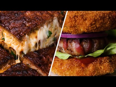 5 Unique Recipes Burger Lovers Cannot Resist ? Tasty Recipes