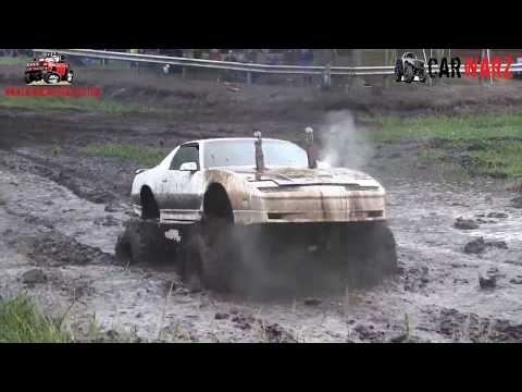 White Trans Am 4x4 Mudding At Bentley Lake Road Mud Bog Fall 2018