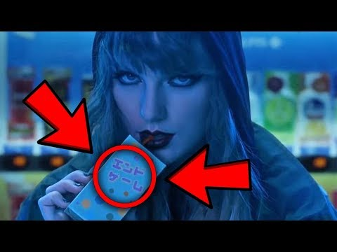 10 THINGS YOU MISSED IN Taylor Swift - End Game ft. Ed Sheeran, Future