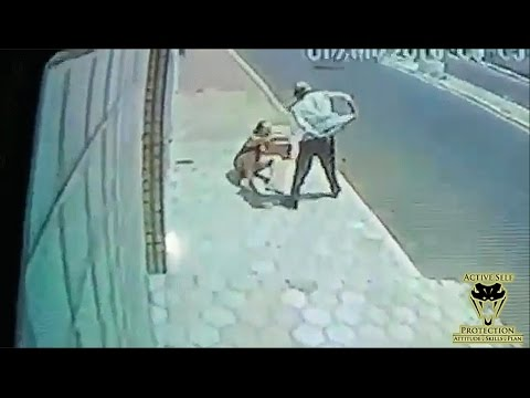 Woman Forced to Defend Herself Against Knife Wielding Lunatic | Active Self Protection