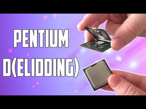Delidding a Pentium D