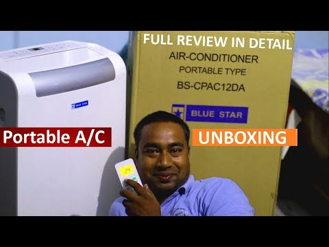 1 Ton Portable Air Conditioner   Full Review on Cooling Performance, Power Consumption , Price etc
