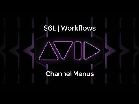 VENUE | S6L – Channel Menus
