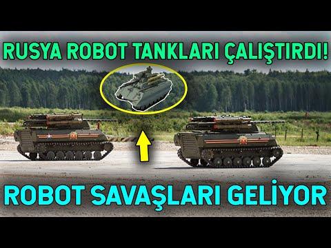 Rusya Robotları Devreye Soktu! Savaşlar Değişecek!
