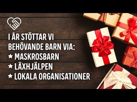 Elgiganten Foundation för en varmare jul 2018