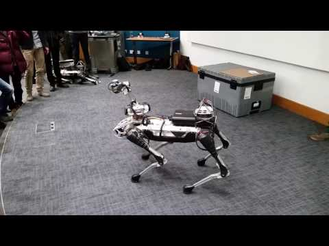 Boston Dynamics SpotMini Demo at UCL