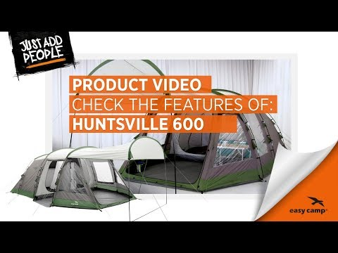 Huntsville 600 Family Tent (2018) | Just Add People