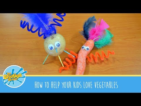 How to help your kids love vegetables