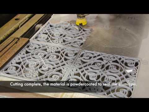 MDC Studio: Precision Waterjet Metal Cutting