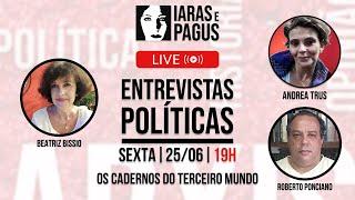 ENTREVISTAS POLÍTICAS - SEXTA - 25.06.21