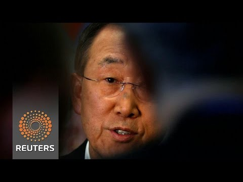 Former U.N. chief's relatives charged in U.S. bribery case