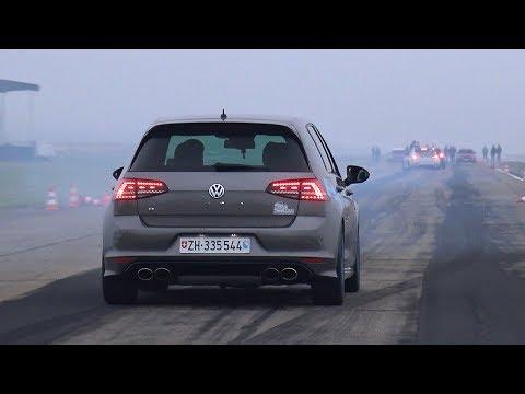 Volkswagen Golf 7 R HPT w/ Pops and Bang Exhaust!