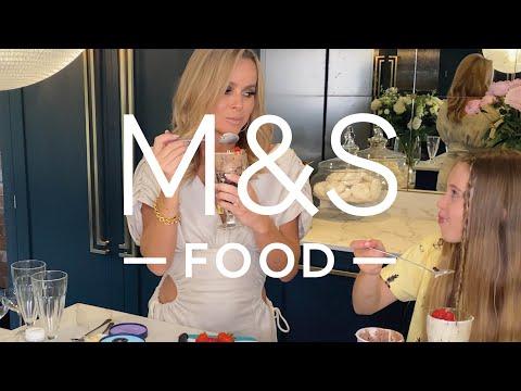 marksandspencer.com & Marks and Spencer Promo Code video: Amanda Holden's fruity summer sundae   M&S FOOD