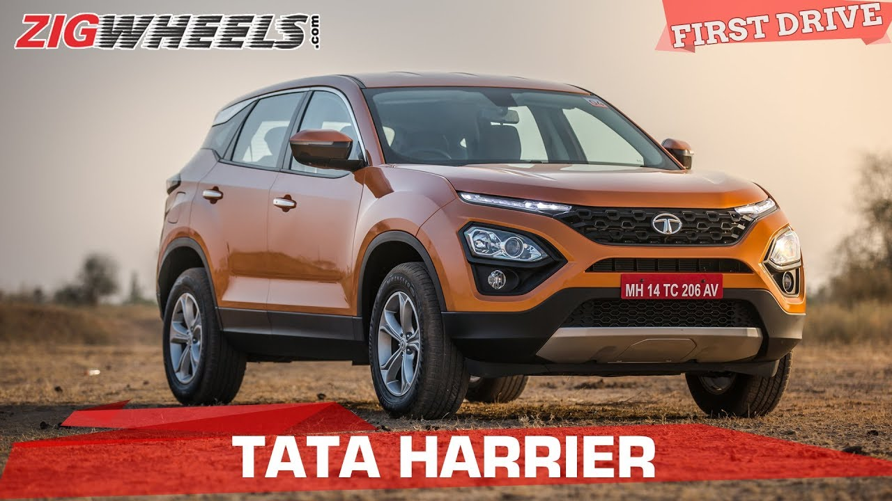 Tata Harrier Review |  20 Lakh For A Tata! | ZigWheels.com