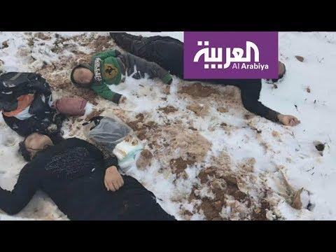 ثلوج لبنان تقتل المزيد من لاجيئ سوريا