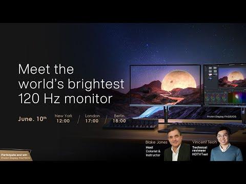 ProArt Masters' Talks X HDTVTest Vincent Teoh | ASUS ProArt Display PA32UCG