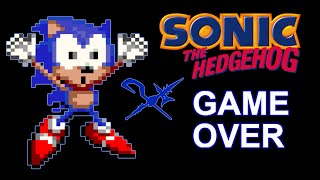 Sonic The Hedgehog Game Over Youtube