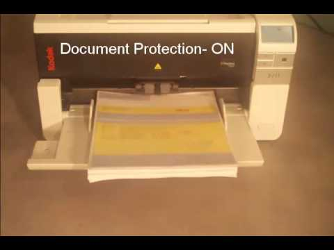 Kodak i2900-i3000 Scanner - Intelligent Document Protection Preview