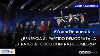 ¿Beneficia al Partido Demócrata la estrategia todos contra Bloomberg