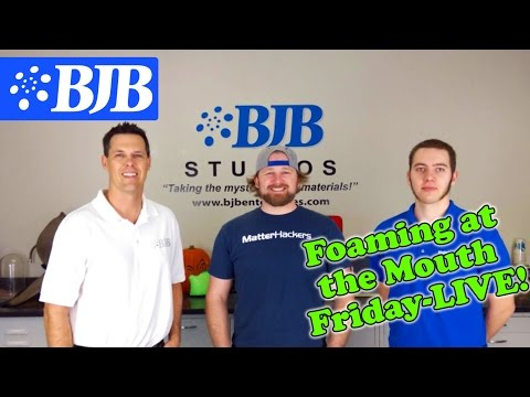Episode 8: Foaming at the Mouth Friday - LIVE w/ Matterhackers