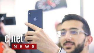iPhone X launches around the world