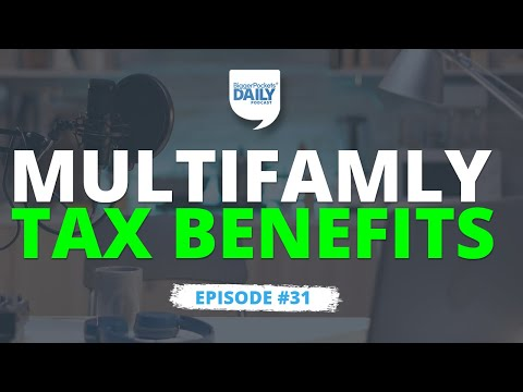 This MAJOR Tax Benefit Convinced Me to Put Money In Large Multifamilies | Daily #31