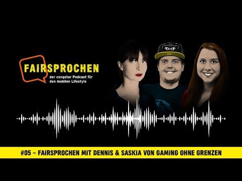congstar Podcast #05 – FAIRsprochen mit Dennis & Saskia von Gaming ohne Grenzen