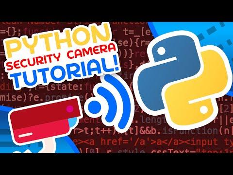 Make A Security Camera With Python