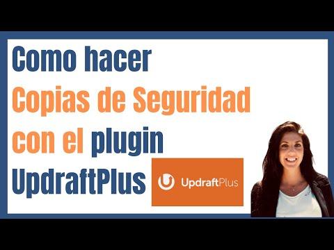 ▶ Cómo hacer COPIAS DE SEGURIDAD con el plugin  [UPDRAFTPLUS]