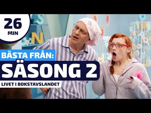 Livet i Bokstavslandet - Det bästa från den andra säsongen