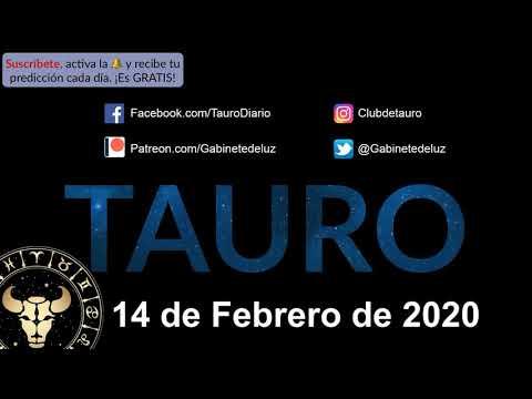 Horóscopo Diario - Tauro - 14 de Febrero de 2020