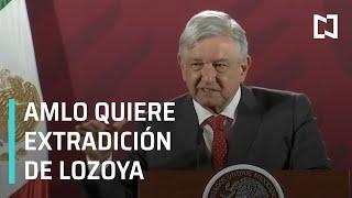 AMLO confía en extradición de Emilio Lozoya a México - Despierta