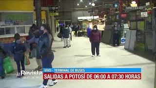 Se normalizan salidas a Oruro y Cochabamba e incorporan viajes a Potosí desde La Paz