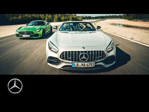 JP Kraemer erlebt sein grünes Wunder: Mercedes-AMG GT R und GT C Roadster auf der Rennstrecke