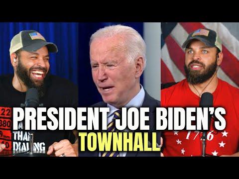 President Joe Biden's Townhall