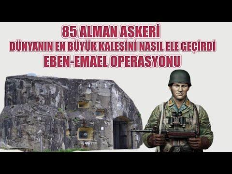 85 ALMAN ASKERİ DÜNYANIN EN BÜYÜK KALESİNİ NASIL ELE GEÇİRDİ ? EBEN EMAEL OPERASYONU 2. dünya savaşı