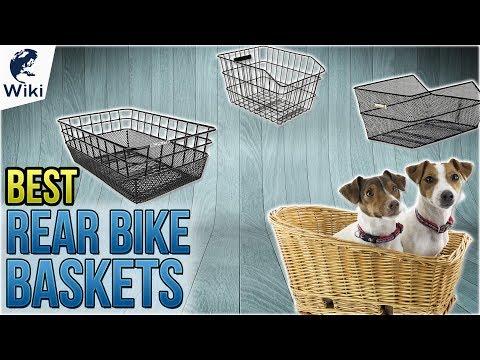 10 Best Rear Bike Baskets 2018